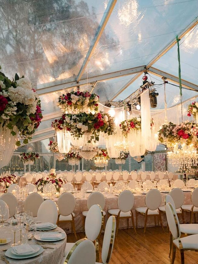 Marquee wedding in Sydney