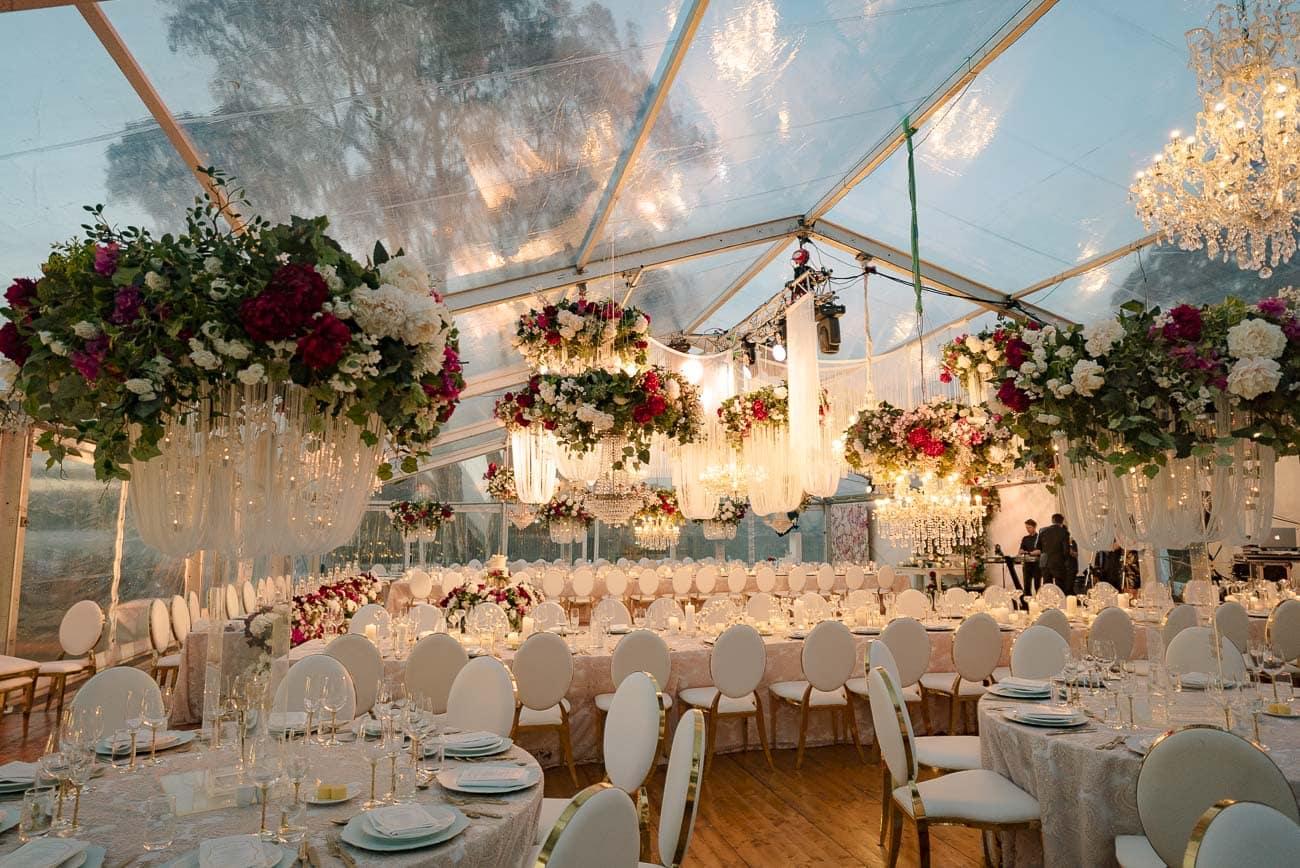 Marquee wedding in Sydney