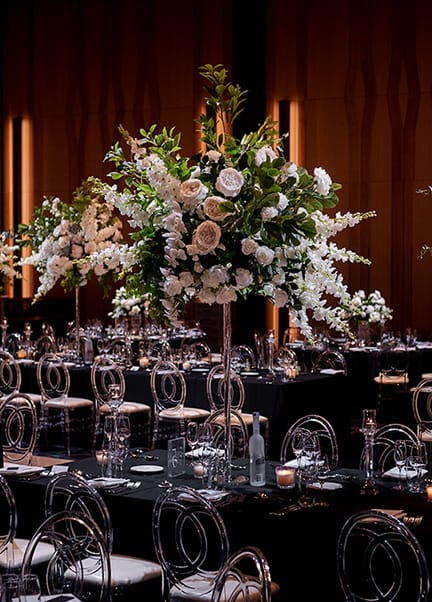Hyatt Regency fresh flower wedding