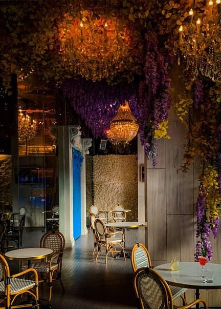 Restaurant interior design in Thailand