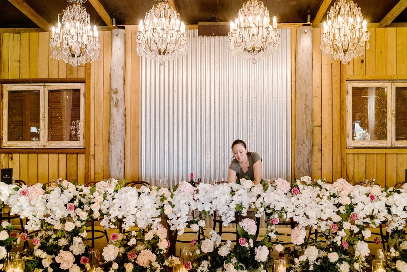 Anna Wang wedding planner and event stylist