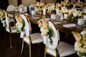 round back wedding chairs