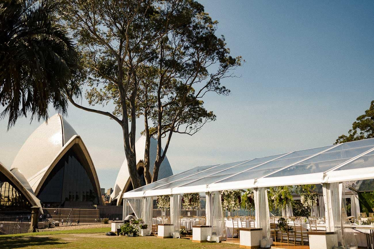 bennelong lawn marquee location