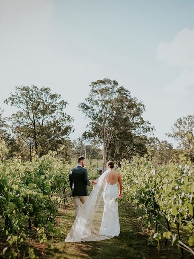 vineyard wedding reception in hunter valley