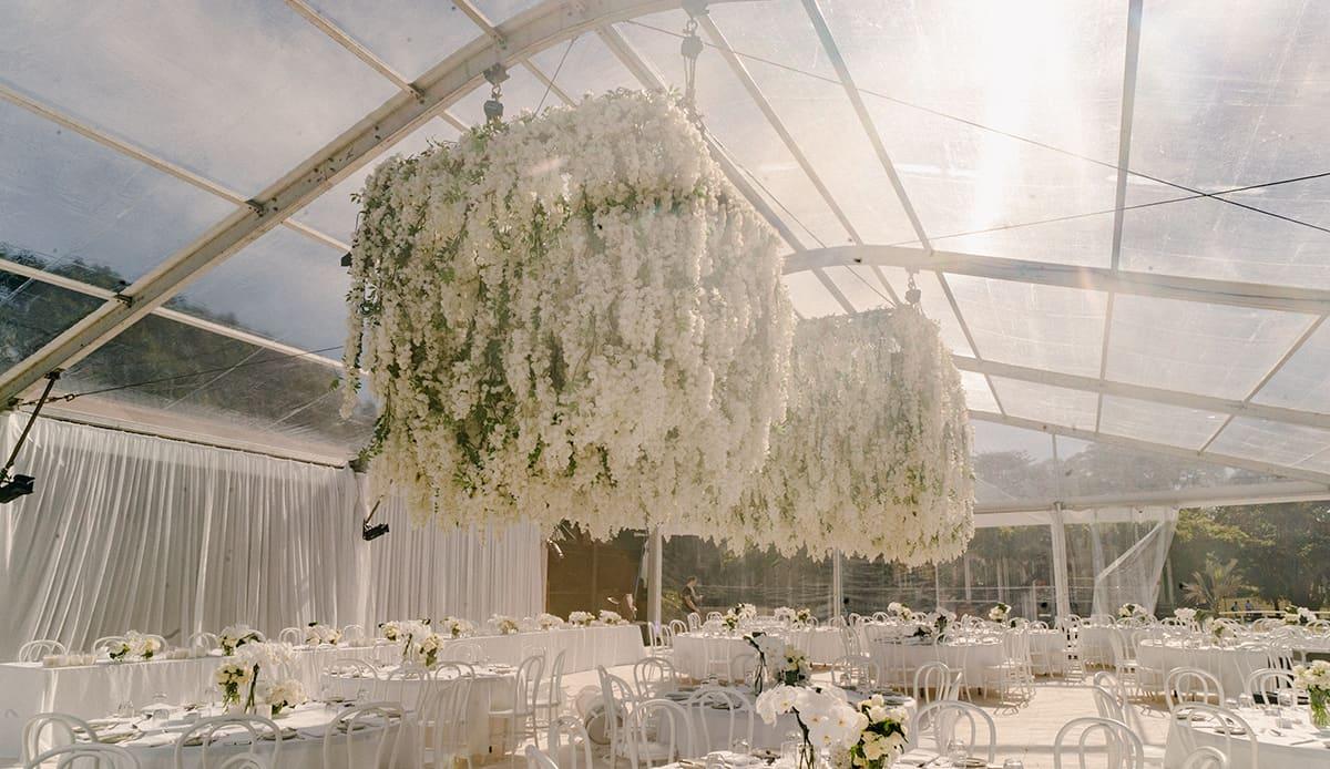 centennial park markquee wedding