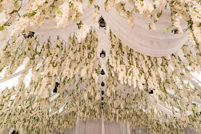 Blossom ceiling installation