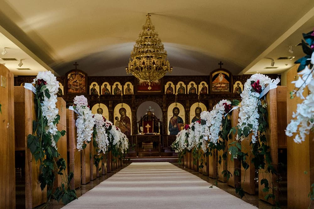 Church Ceremony Decoration