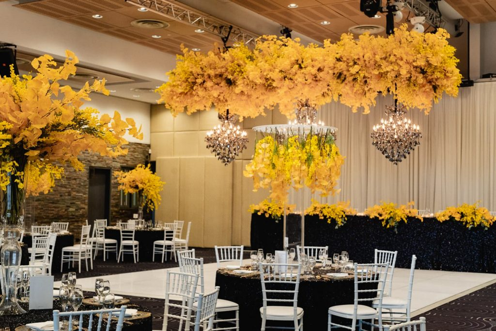 Anna Wang wedding decorations simple
