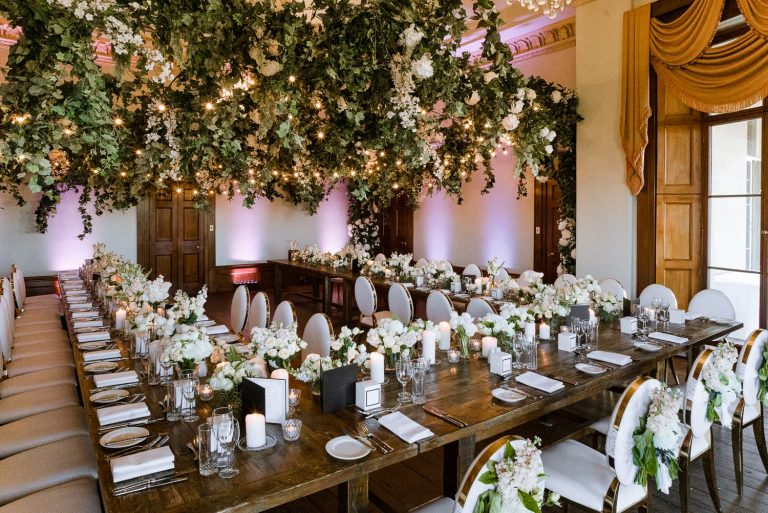 Fernhill Estate Sydney wedding stylist