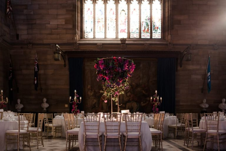 Great Hall wedding stylist in Sydney