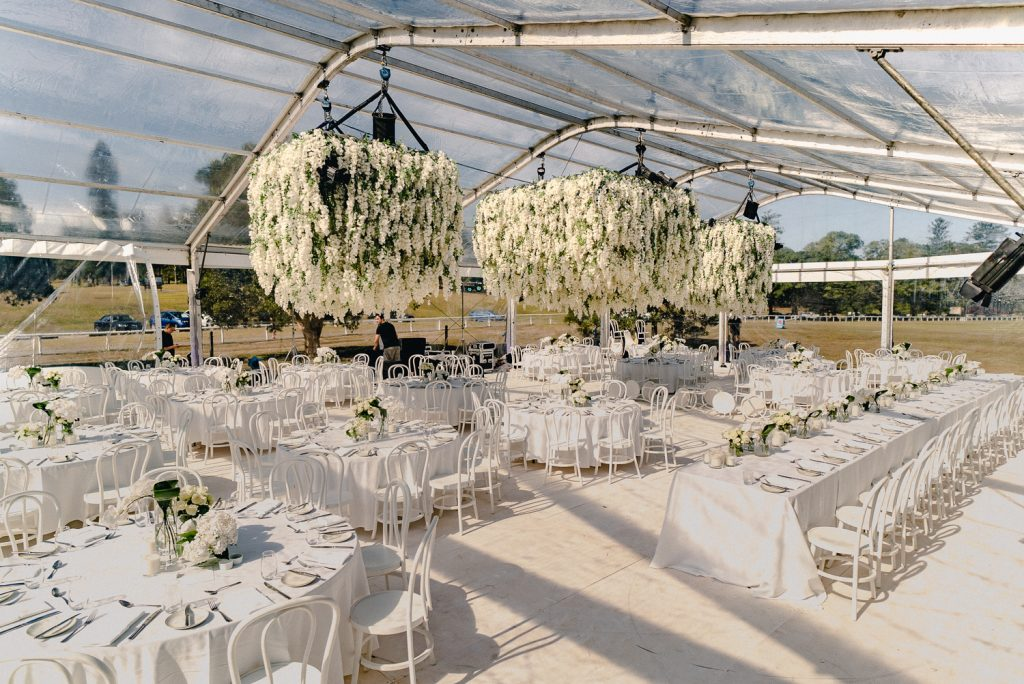 Sydney wedding stylist marquee