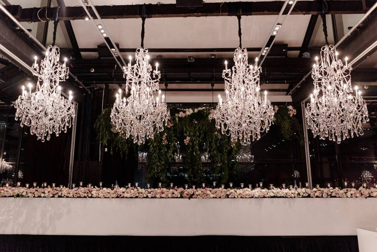 Doltone House chandelier hire