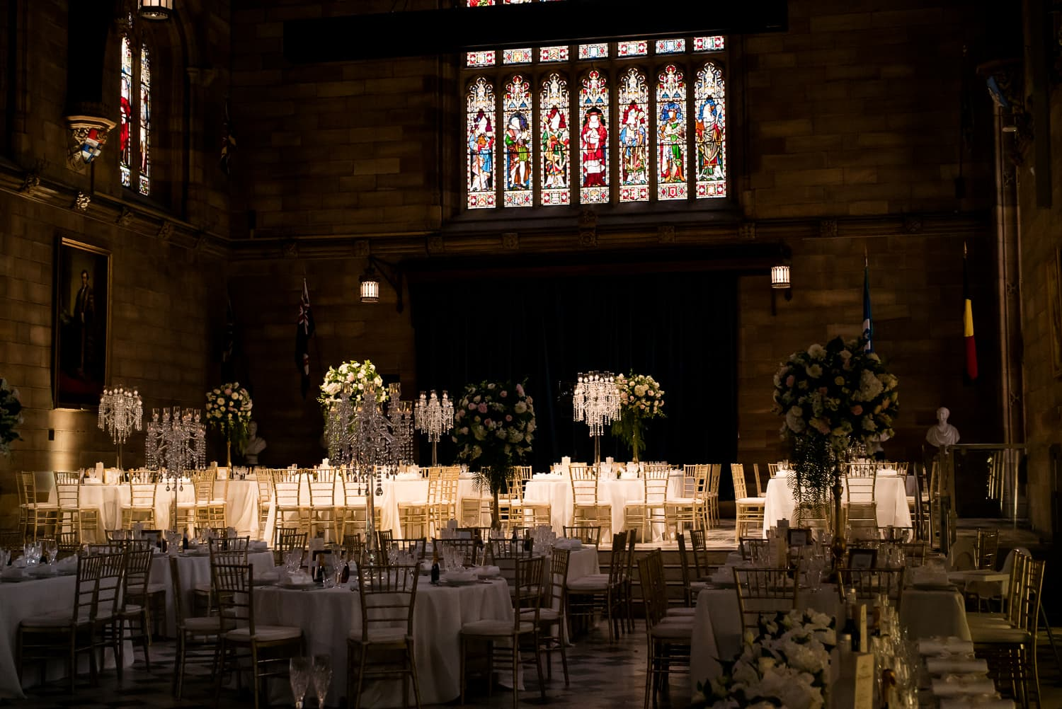 Amanda and Luca's wedding at The Great Hall USYD
