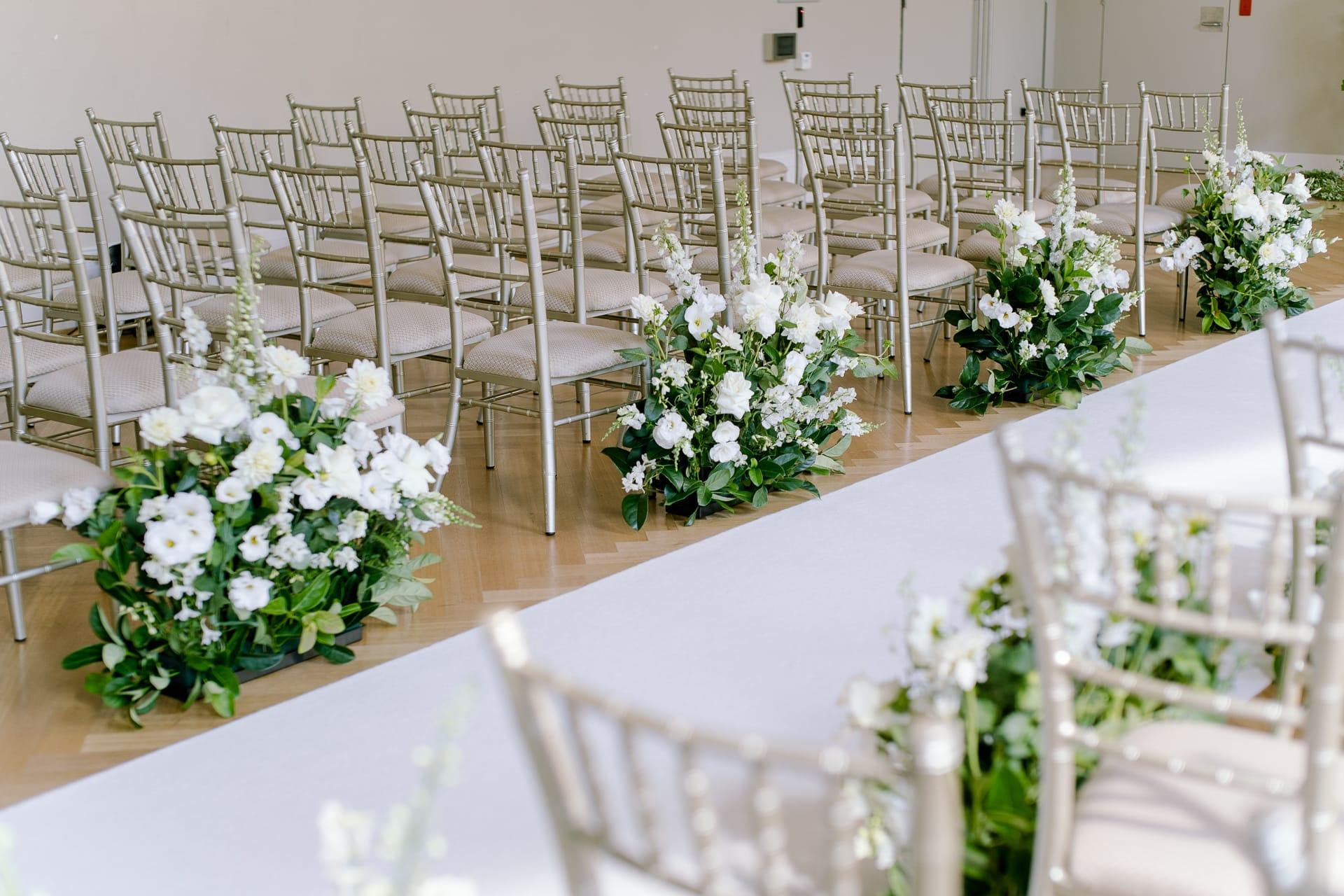 Fresh flowers for wedding