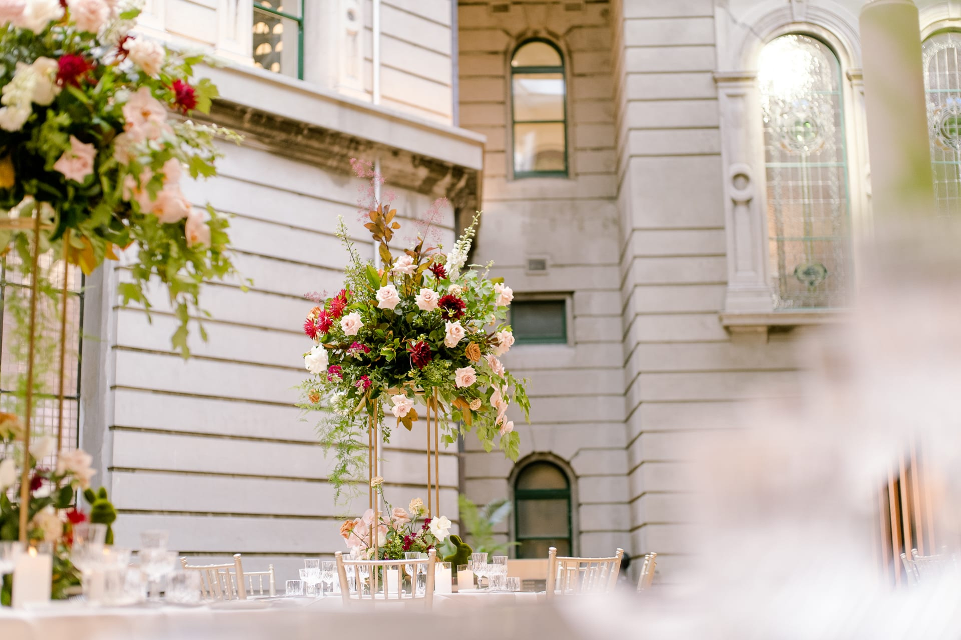 Amy and Tai's State Library of Victoria Wedding