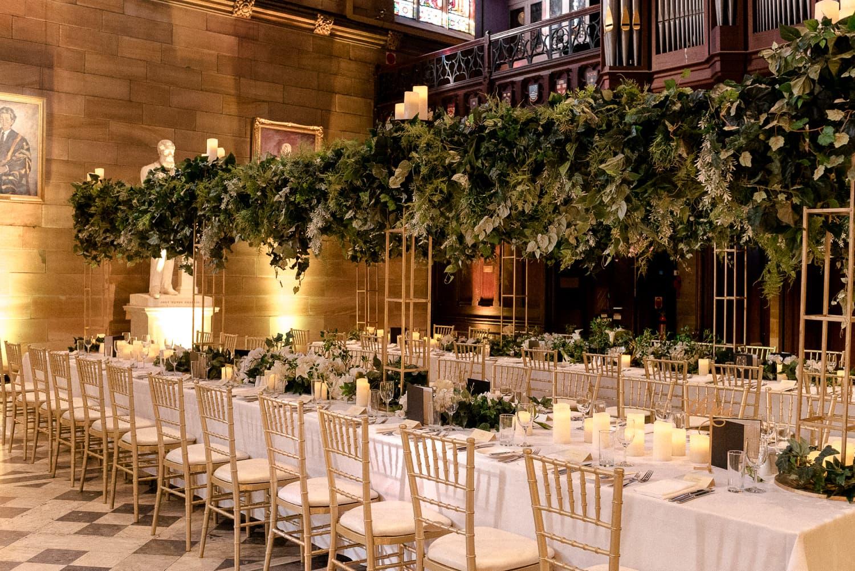 Cassandra and Ben wedding The great hall usyd