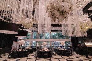 ceiling installation Ivy Ballroom