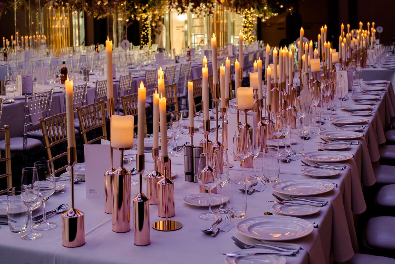 King Table wedding decor
