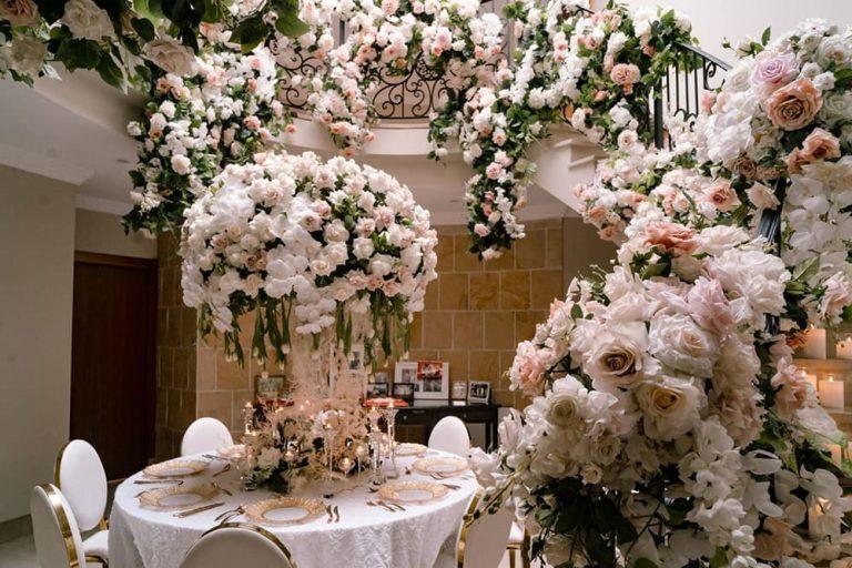 Fresh Flower Centrepieces
