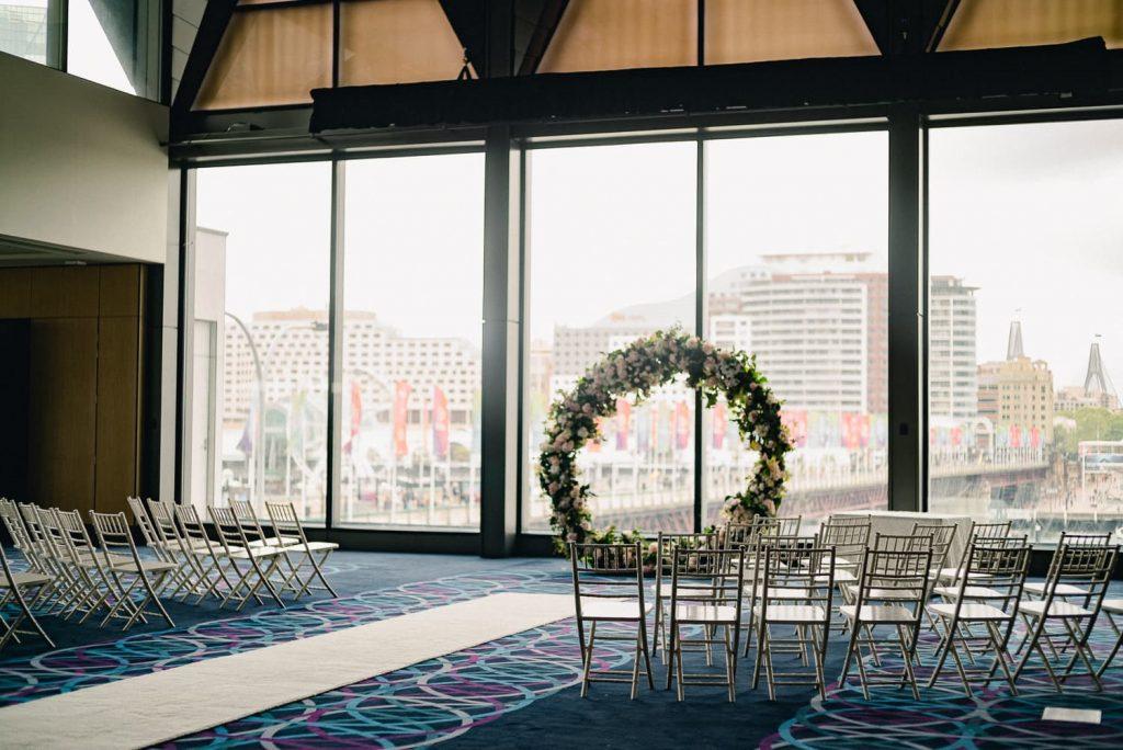 Hyatt Regency ceremony wedding