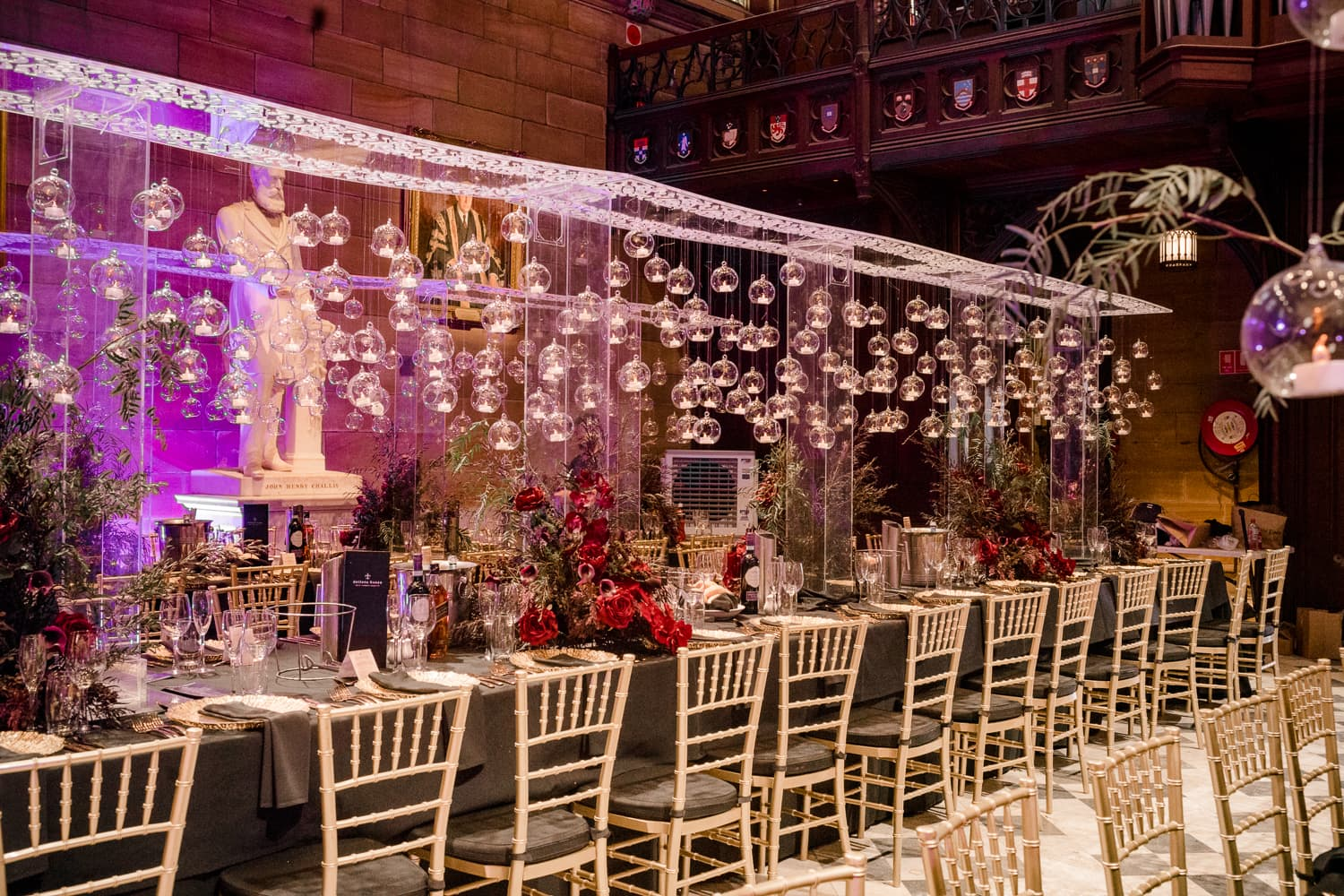 Monica and Anthony Great Hall Wedding
