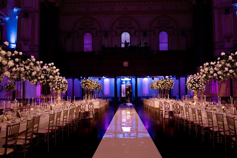Susan and Matthews wedding at Sydney Town Hall